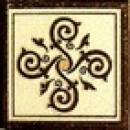 Гётеборг (коричневый) Вставка 6х6 Фрилайт