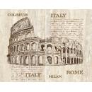 Efes coliseum Панно из 2-х плиток 50x40 Ceramica Classic