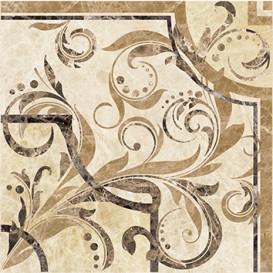 Illyria vendom marrone Вставка напольная 30х30 Ceramica Classic