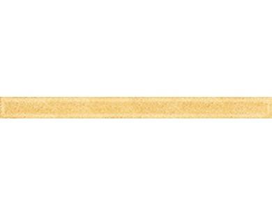 Monocolor Бордюр стекло Gold 2х25 Ceramica Classic