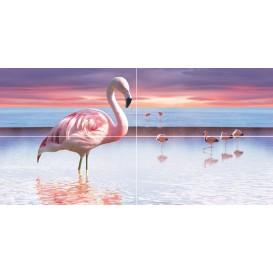 Flamingo Панно 50x100 Ceramica Classic