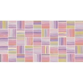 Фламинго лиловый Мозаика стандарт 10-31-51-271 25х50 Ceramica Classic