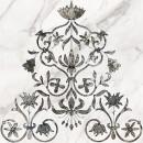 Каррара 1 Декор напольный тип 2 50х50 Керамин
