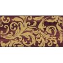 Ampir Декор бордо 25х50 Ceramica Classic