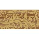 Ampir Декор бежевый темный 25х50 Ceramica Classic