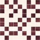 Stripes Мозаика бордо+бежевый 30х30 Ceramica Classic