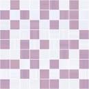 Stripes Мозаика лиловый+серый 30х30 Ceramica Classic