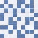 Stripes Мозаика синий+серый 30х30 Ceramica Classic