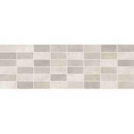 Fiori Grigio Декор мозаика светло-серая 1064-0047 / 1064-0102 20х60 LB-Ceramics