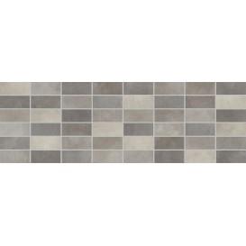 Fiori Grigio Декор мозаика темно-серая 1064-0048/1064-0103 20х60 LB-Ceramics