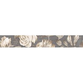 Fiori Grigio Бордюр 2 1506-0100 9х60 LB-Ceramics