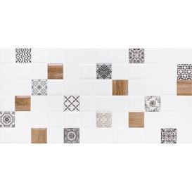 Астрид Декор 1 белый 1041-0178/ 1041-0238 20х40 LB-Ceramics