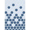 Блэйз 2 Плитка настенная синий 27,5х40 Керамин