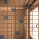 Мозаика зеркальная Бронза + Графит Б90Г10 ДСТ 25 х 25/300 x 300 мм (10шт) - 0,9 ДСТ