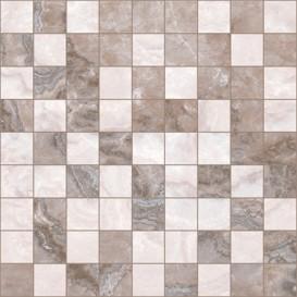 Marmo Мозаика 30х30 коричневый+бежевый Ceramica Classic