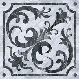 Bergamo Декор Класический Микс Холодная гамма K946620LPR 60x60 Vitra