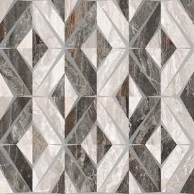 Bergamo Декор Геометрический Микс Теплая гамма K946629LPR 60x60 Vitra