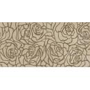 Serenity Rosas Декор коричневый 08-03-15-1349 20х40 Ceramica Classic