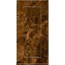 Букингем 3Д Плитка настенная коричневая 30х60 Керамин
